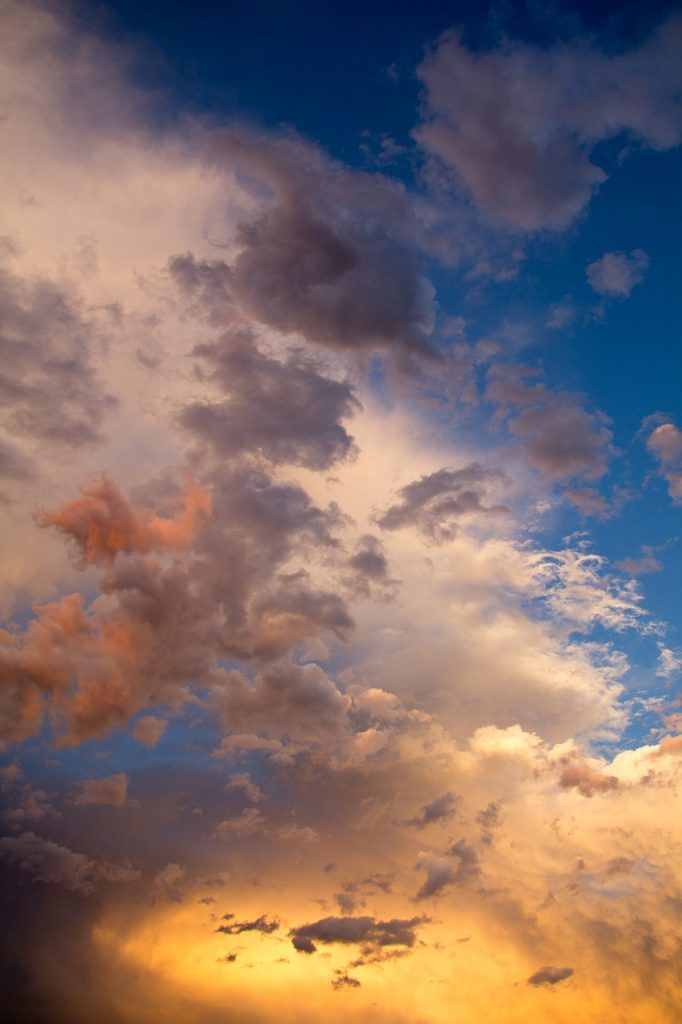 clouds, air, storm